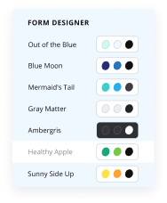Customize Form Design